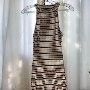 striped tight dress!